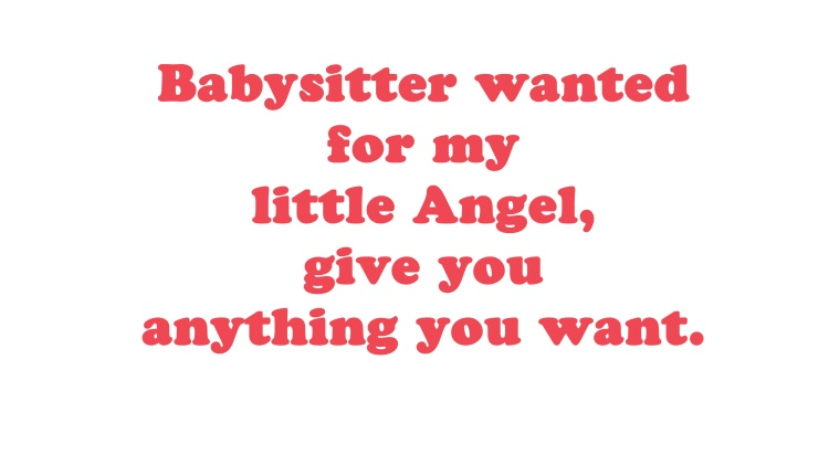 Babysitter-wanted