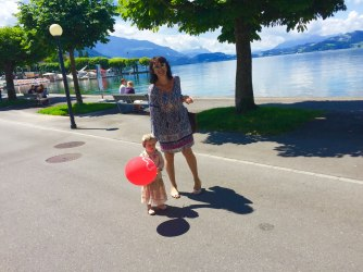 Our lake Promenade.