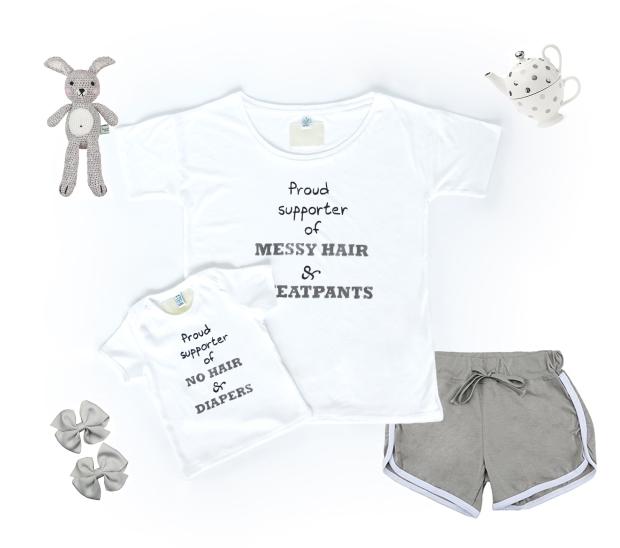 T-shirt, T-shirt for mother and, Partnerlook, T-shirt for Baby, T-shirt for Kids, T-shirt for girl, T-shirt for Boy, Women T-shirt, Henrieta Duffner, Lolahola, Birthday present, gift, Mutter baby, Mutter tochter, Mutter sohn
